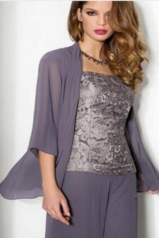 Robe de mère pantalon de costume Automne Manquant Haute Couvert