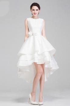 Robe de mariée Poétique De plein air Sans Manches Multi Couche