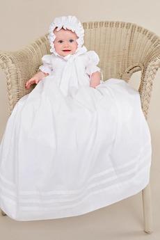 Robe de baptême Lanterne Princesse Longue Naturel taille Petites Tailles