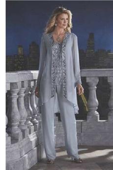 Robe de mère pantalon de costume Haute Couvert Rectangulaire Naturel taille