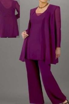 Robe de mère pantalon de costume Haute Couvert vogue 2 Pièces