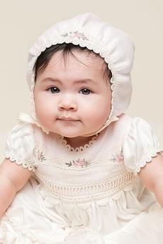 Robe de baptême Formelle Petites Tailles Princesse Longueur ras du Sol