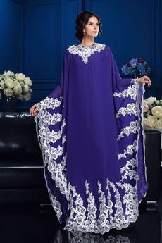 Robe Mère de Mariée Formelle Longueur Cheville Automne Dentelle