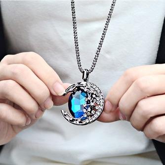 Collier femmes nouveauté alliage bijoux rétro Collier & pendentif en cristal - Page 3
