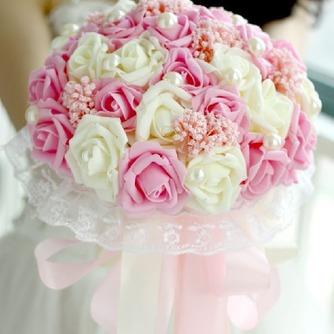 La mariée est titulaire d'un studio de tournage accessoires bouquet tiffany bleu blanc vert fiffany - Page 5
