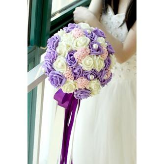 La mariée est titulaire d'un studio de tournage accessoires bouquet tiffany bleu blanc vert fiffany - Page 4