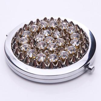 Affaires annonce Portable gros Top grade métal pliant petit miroir & peigne - Page 2