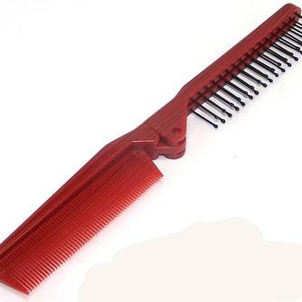Grain de bois rouge pliante multifonction Portable petit miroir & peigne - Page 3