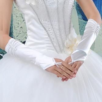 Gants de mariage Ruché Romantique Automne Plage Taffetas - Page 1