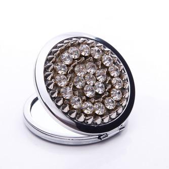 Affaires annonce Portable gros Top grade métal pliant petit miroir & peigne - Page 1