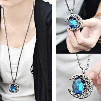 Collier femmes nouveauté alliage bijoux rétro Collier & pendentif en cristal - Page 4