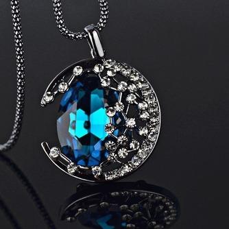 Collier femmes nouveauté alliage bijoux rétro Collier & pendentif en cristal - Page 2