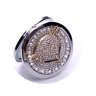 Catégorie supérieure double face le charme pliantes Inlaid diamond Business petit miroir & peigne - Page 4