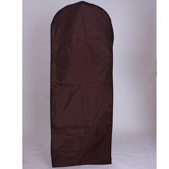 Mariage robe cache-poussière fil épais tissu étanche brun accroché la robe de mariée fait impression pare-poussière - Page 1