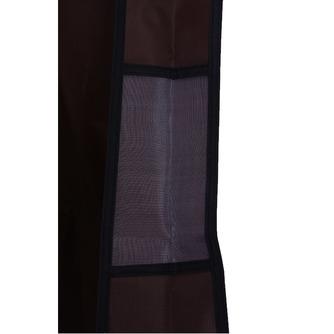 Mariage robe cache-poussière fil épais tissu étanche brun accroché la robe de mariée fait impression pare-poussière - Page 3
