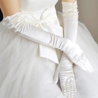 Gants de mariage Ruché Formelle Hiver Salle Taffetas - Page 1