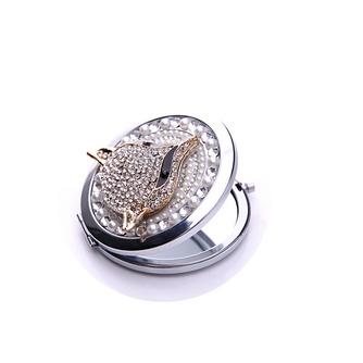 Catégorie supérieure double face le charme pliantes Inlaid diamond Business petit miroir & peigne - Page 2