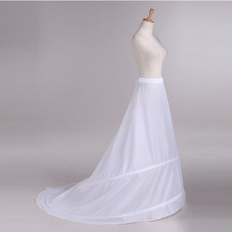 Jupon de mariage Trailing Adjustable Wedding dress Two rims Polyester taffeta - Page 1