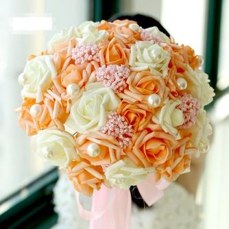 La mariée est titulaire d'un studio de tournage accessoires bouquet tiffany bleu blanc vert fiffany - Page 3