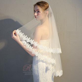Voile de mariée voile de dentelle voile court voile simple - Page 3