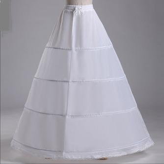 Jupon de mariage Standard Four rims Adjustable Fashionable Polyester taffeta - Page 2