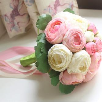 Bouquet de fleurs à main simple diamant perle atmosphérique une matrone d'honneur - Page 2