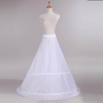 Jupon de mariage Trailing Adjustable Wedding dress Two rims Polyester taffeta - Page 2