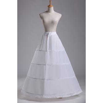 Jupon de mariage Standard Four rims Adjustable Fashionable Polyester taffeta - Page 1