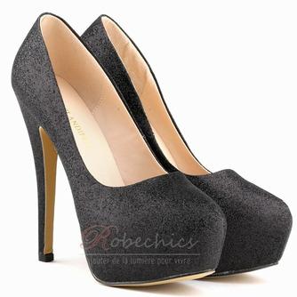 Chaussures de mariage de mode de mariée étincelantes talons aiguilles - Page 4