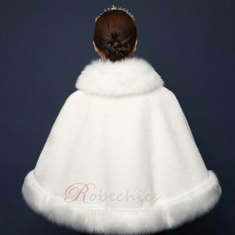 Fausse fourrure grand manteau hiver grande taille châle chaud - Page 2
