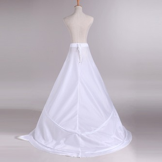 Jupon de mariage Trailing Adjustable Wedding dress Two rims Polyester taffeta - Page 3