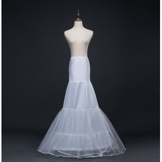 Jupon de mariage Long Mermaid Double yarn Spandex Corset Wedding dress - Page 1
