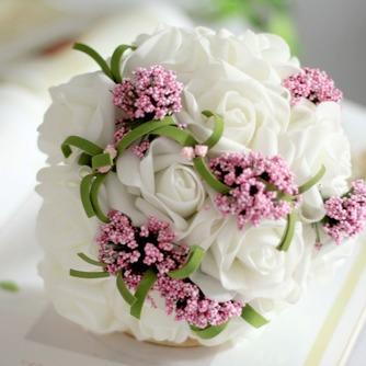 Le bouquet de main simulation fleur bouquet mariée demoiselle d'honneur mariage - Page 1