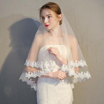 Voile de mariée voile de dentelle voile court voile simple - Page 2