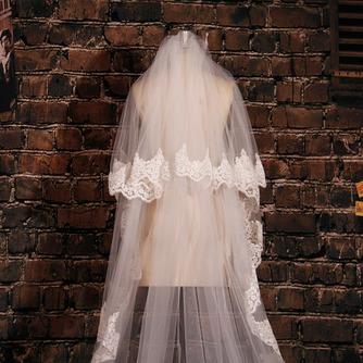 Grand voile de dentelle de fuite voile de mariée long voile de mariage - Page 3