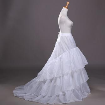 Jupon de mariage Three rims Trailing Long Wedding dress Polyester taffeta - Page 3