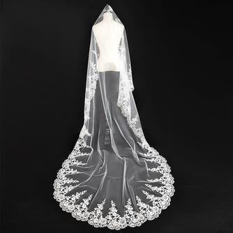 Voile de mariée Automne Glamour Appliquer Robe de Mariée Déesse - Page 1