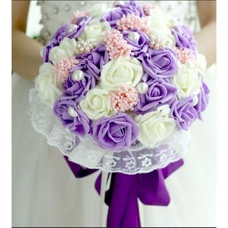 La mariée est titulaire d'un studio de tournage accessoires bouquet tiffany bleu blanc vert fiffany - Page 2