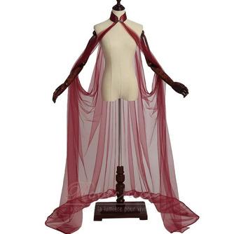 Costume elfe conte de fées manteau de mariage en tulle châle costume médiéval - Page 12