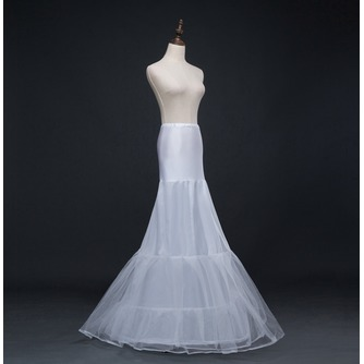 Jupon de mariage Long Mermaid Double yarn Spandex Corset Wedding dress - Page 2