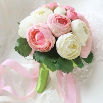 Bouquet de fleurs à main simple diamant perle atmosphérique une matrone d'honneur - Page 3