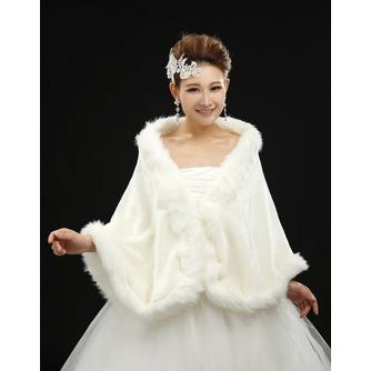 Châle de mariages Glamour Sans Manches Automne Plumes - Page 1