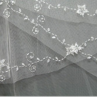 Voile de mariée Multi Couche Perle Chic Printemps - Page 3