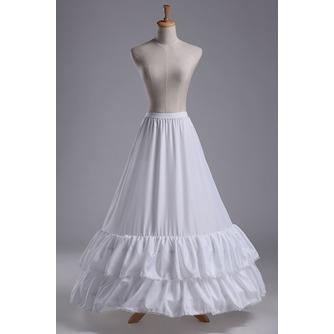 Jupon de mariage Lace trimming Wedding dress Long Polyester taffeta - Page 1