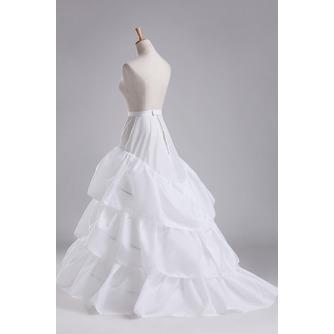 Jupon de mariage Three rims Full dress Diameter Elegant Polyester taffeta - Page 1