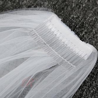 2M voile long voile simple ensemble voile net doux accessoires de mariée voile - Page 5