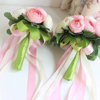 Bouquet de fleurs à main simple diamant perle atmosphérique une matrone d'honneur - Page 4