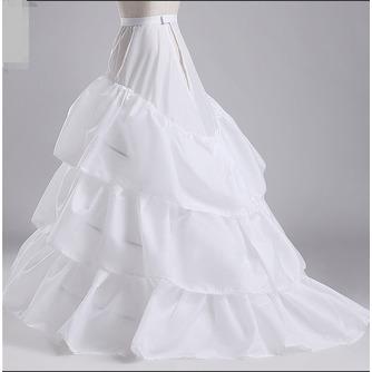 Jupon de mariage Three rims Full dress Diameter Elegant Polyester taffeta - Page 2