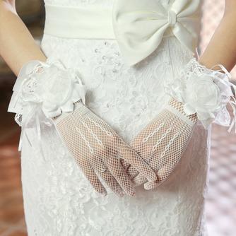 Gants de mariage Fleurs Automne Black multifunctional Elégant - Page 1