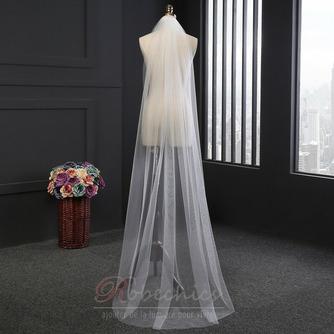 2M voile long voile simple ensemble voile net doux accessoires de mariée voile - Page 1